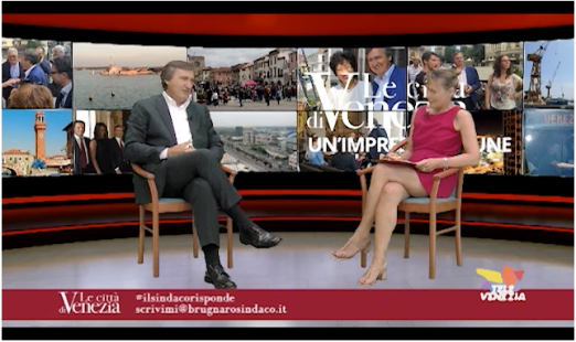Brugnaro-Donà su Televenezia.