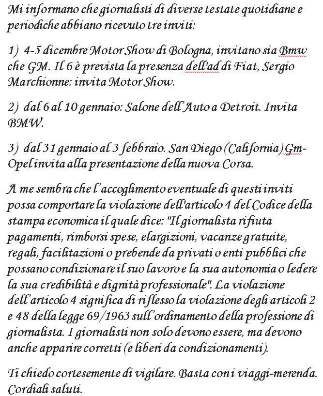 lettera aperta Abruzzo
