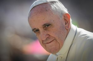 18/09/2013 Città del Vaticano, piazza San Pietro, udienza generale del mercoledì , nella foto papa Francesco