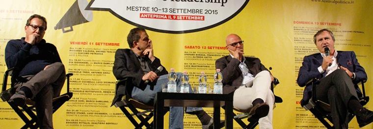 Brugnaro al Festival della Politica 2015