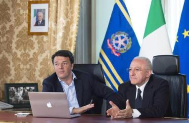 "Renzi in streaming con De Luca, ""stranamente moderato"""
